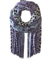 Bindya - Indigo Cashmere/Silk Wrap
