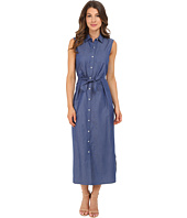 Christin Michaels - Enya Chambray Maxi Dress