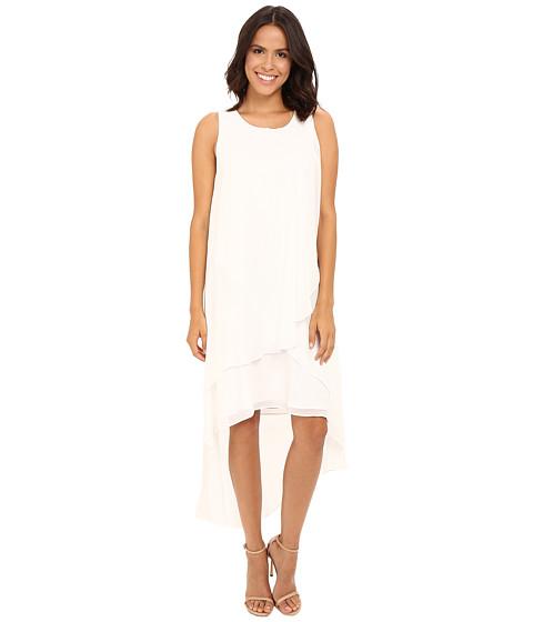 Christin Michaels Fenella Layered High-Low Dress