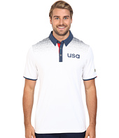 adidas Golf - CLIMACHILL® USA Shoulder Print Polo