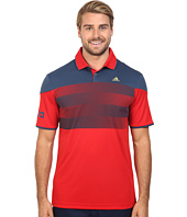adidas Golf - CLIMACHILL® USA American Stripe Polo