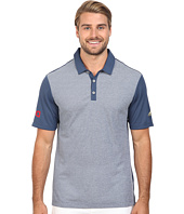 adidas Golf - CLIMACHILL® USA Heather Stripe Polo