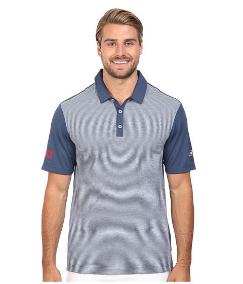adidas Golf CLIMACHILL® USA Heather Stripe Polo
