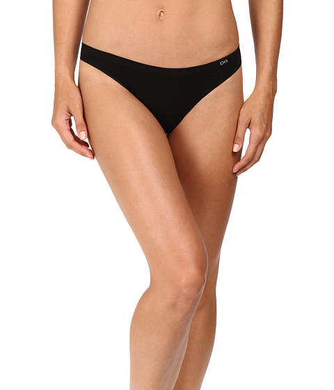 OnGossamer Clean Lines Low Rise Thong G2075 - Black