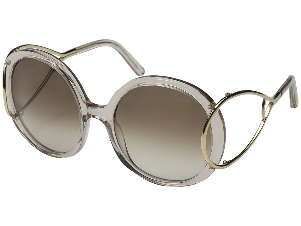 Chloe Jackson Crystal Turtledove Fashion Sunglasses