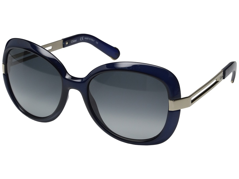 Chloe Bianca Blue Fashion Sunglasses