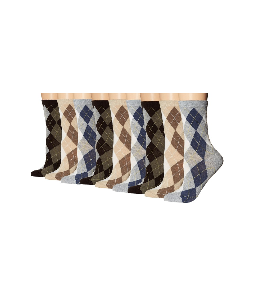 Ecco Socks - Argyle Crew Socks