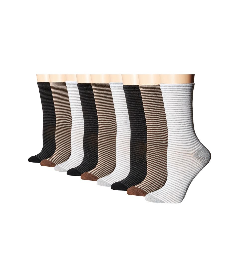 Ecco Socks - Stripe Crew Socks