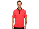 adidas Golf CLIMACOOL Performance Polo (Ray Red/Black)
