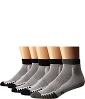 Ecco Socks - Anklet Cushion w/ Mesh Top Socks - 5 pack