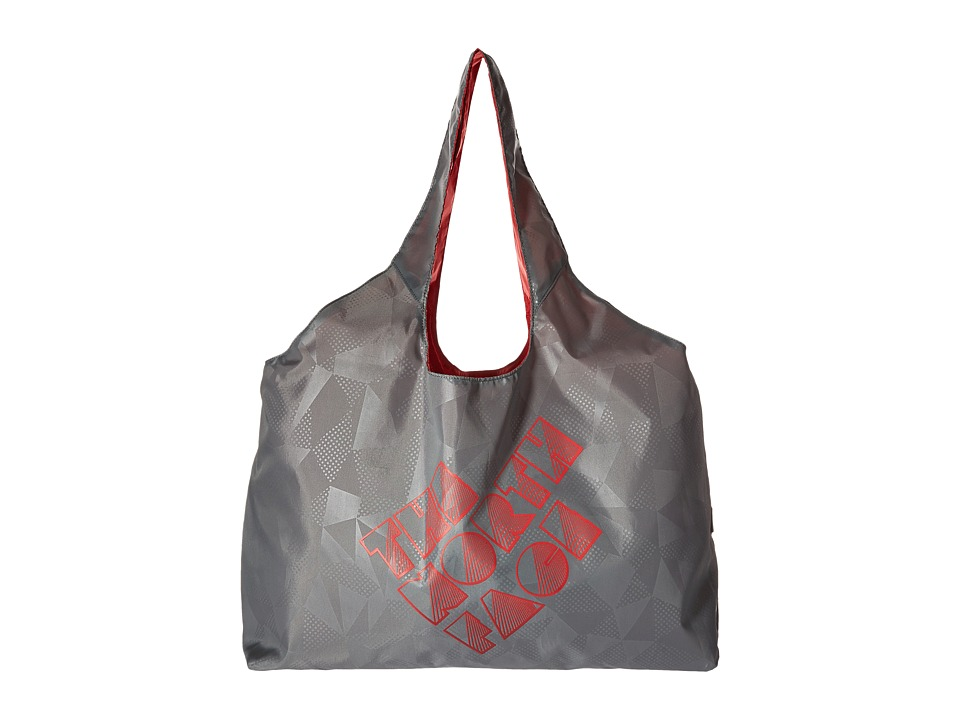 The North Face - On The Run Bag (Melon Red/Zinc Grey) Tote Handbags