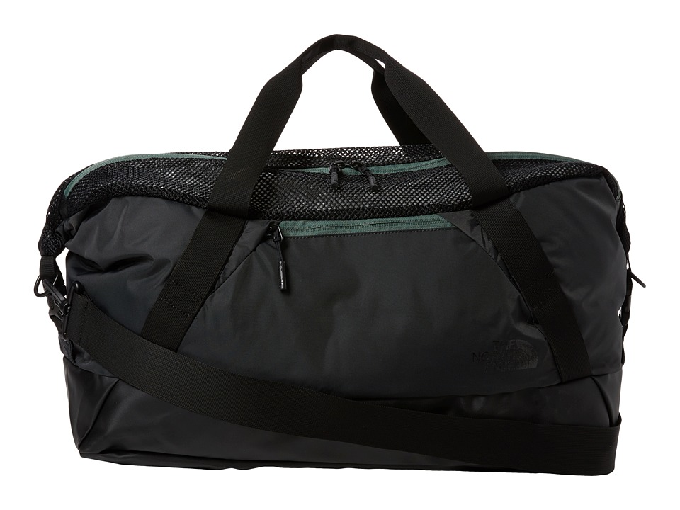 The North Face - Apex Gym Duffel Bag - Medium (Asphalt Grey/Duck Green) Duffel Bags