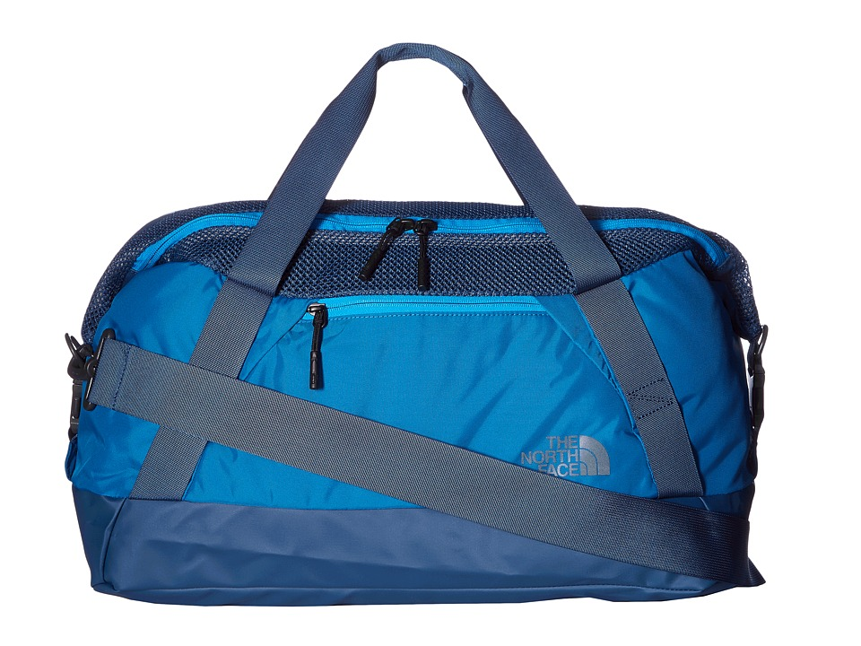 The North Face - Apex Gym Duffel Bag - Small (Banff Blue/Blue Aster) Duffel Bags