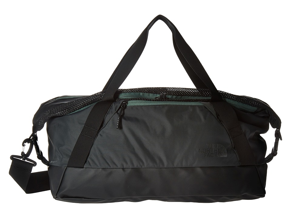 The North Face - Apex Gym Duffel Bag - Small (Asphalt Grey/Duck Green) Duffel Bags