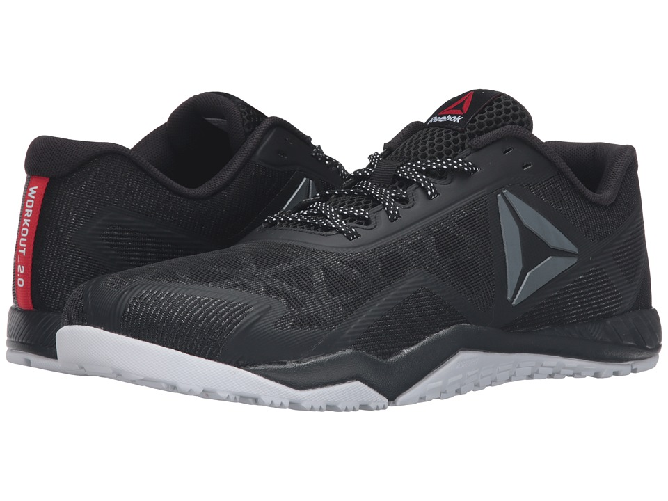 Reebok ROS Workout TR 2.0 (Stealth Black/Coal/White/Riot Red) Men