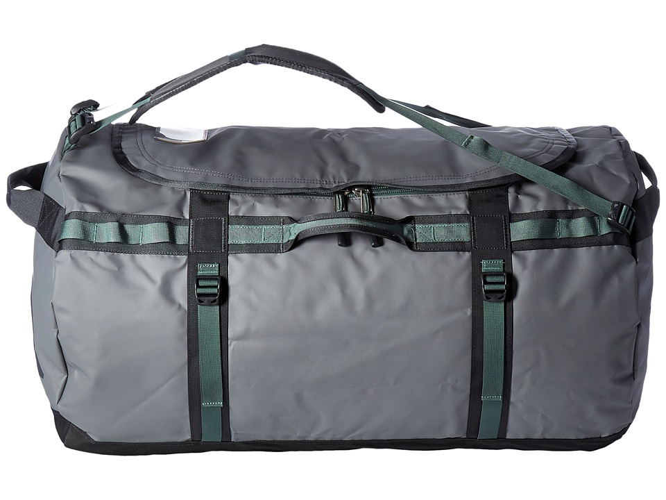 The North Face - Base Camp Duffel - XL (Zinc Grey/Duck Green) Duffel Bags