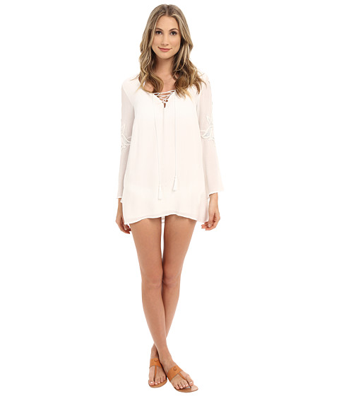 L*Space Island Gypsy Tunic Cover-Up
