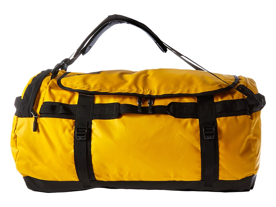 The North Face - Base Camp Duffel - Large (Summit Gold/TNF Black) Duffel Bags