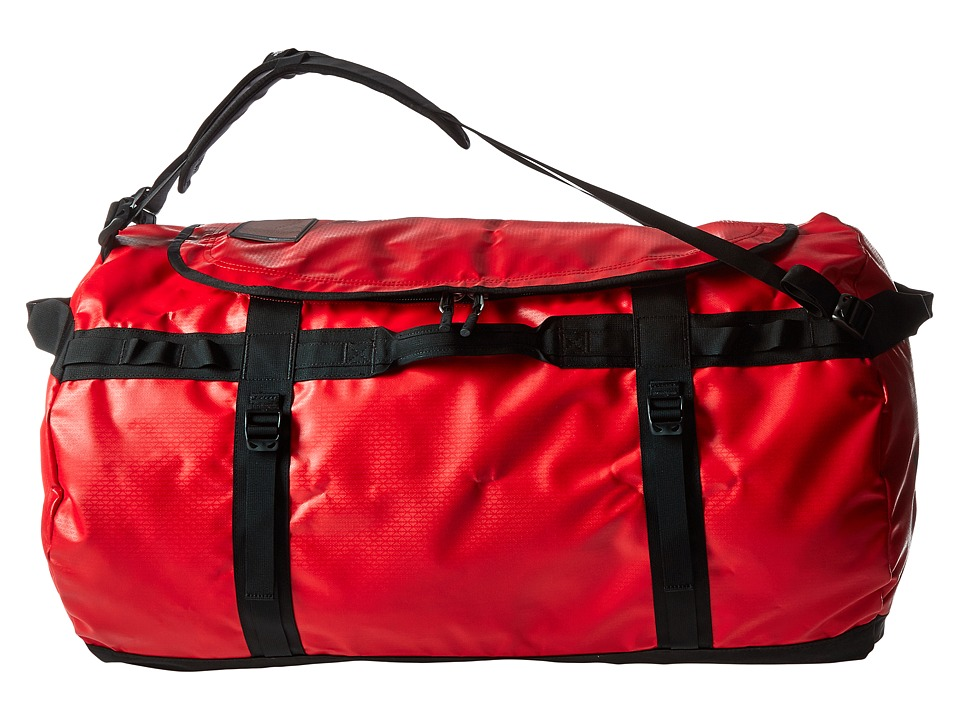 The North Face - Base Camp Duffel - Large (TNF Red/TNF Black) Duffel Bags
