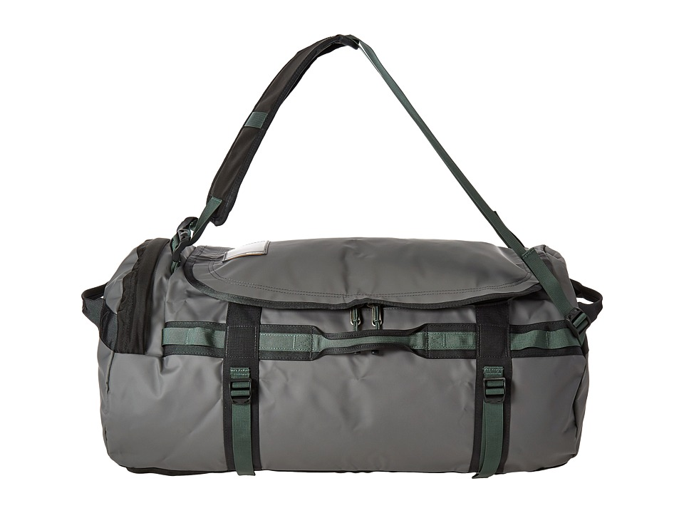The North Face - Base Camp Duffel - Large (Zinc Grey/Duck Green) Duffel Bags
