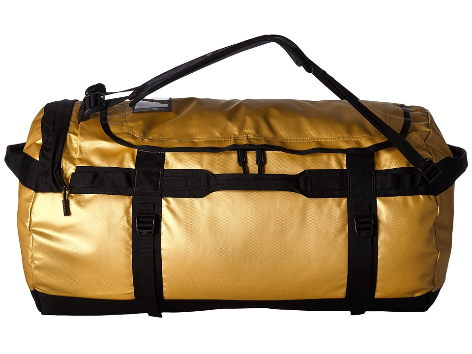 The North Face - Base Camp Duffel - Large (24k Gold/TNF Black) Duffel Bags