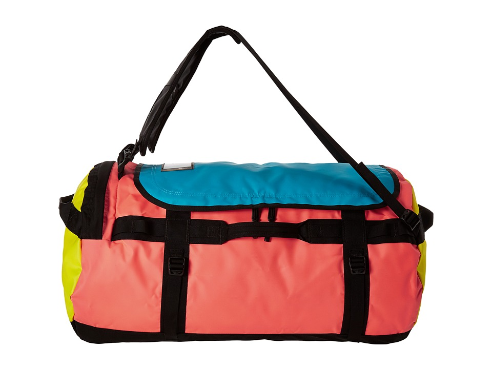 The North Face - Base Camp Duffel - Large (Tropical Coral/Blazing Yellow) Duffel Bags