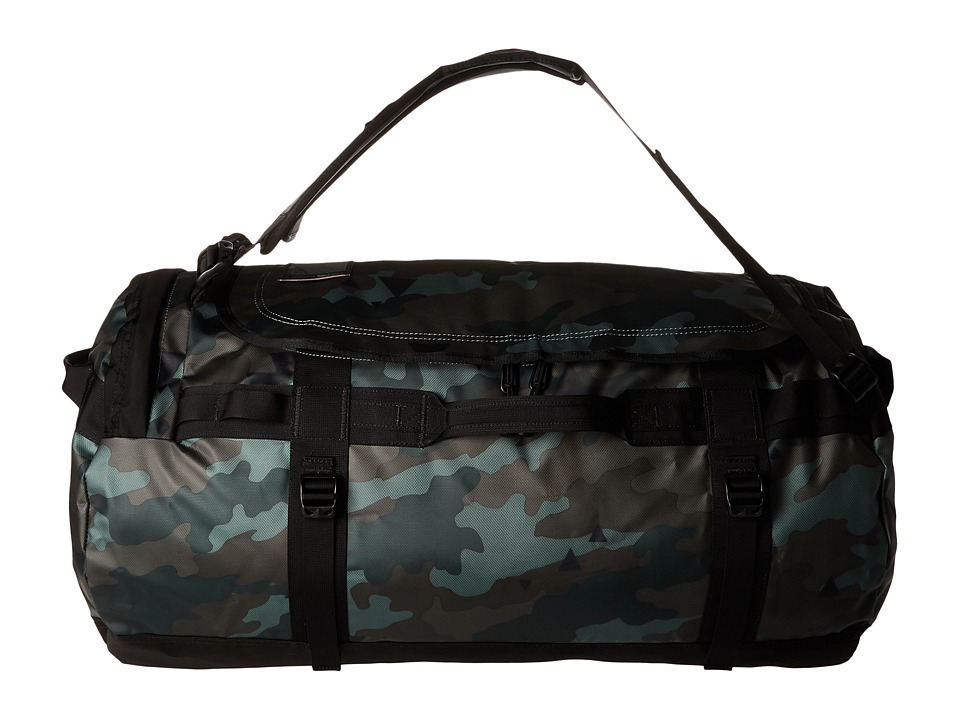 The North Face - Base Camp Duffel - Large (Camo Print/TNF Black) Duffel Bags