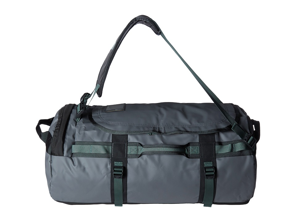 The North Face - Base Camp Duffel - Medium (Zinc Grey/Duck Green) Duffel Bags