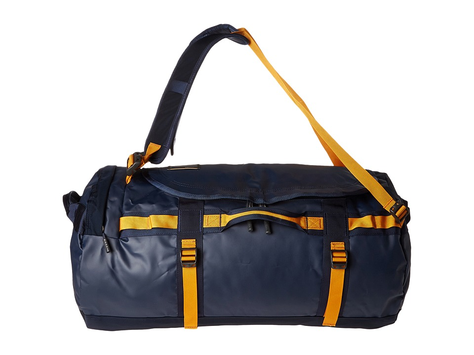 The North Face - Base Camp Duffel - Medium (Urban Navy/Citrine Yellow) Duffel Bags