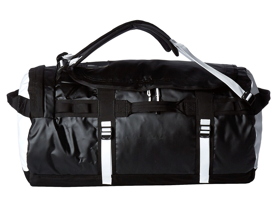 The North Face - Base Camp Duffel - Medium (TNF Black/TNF White) Duffel Bags