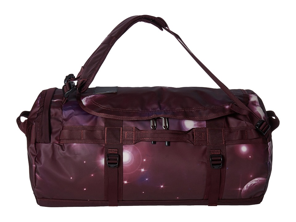 The North Face - Base Camp Duffel - Medium (Solar Flare Print/Root Brown) Duffel Bags