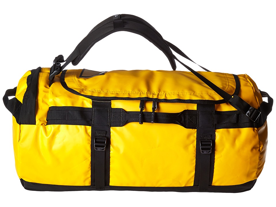 The North Face - Base Camp Duffel - Medium (Summit Gold/TNF Black) Duffel Bags