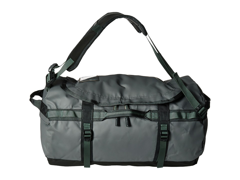 The North Face - Base Camp Duffel - Small (Zinc Grey/Duck Green) Duffel Bags