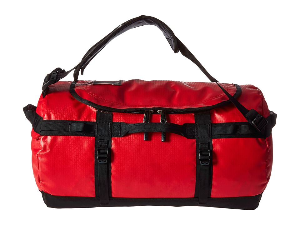The North Face - Base Camp Duffel - Small (TNF Red/TNF Black) Duffel Bags