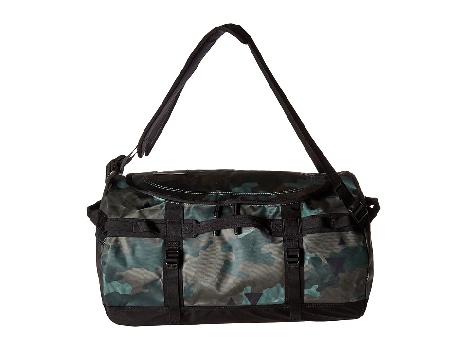 The North Face - Base Camp Duffel - Small (Camo Print/TNF Black) Duffel Bags