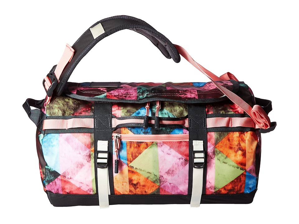 The North Face - Base Camp Duffel - XS (Double Take Print/Terrazzo Pink) Duffel Bags