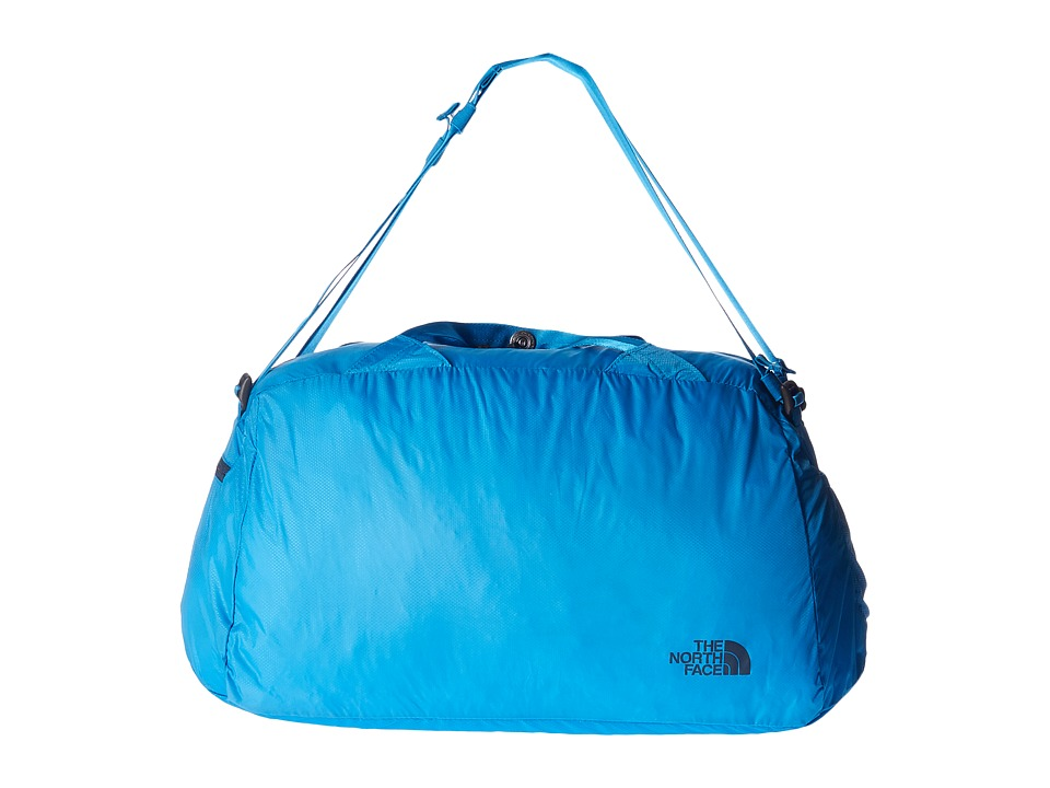 The North Face - Packable Flyweight Duffel (Blue Aster/Shady Blue) Duffel Bags