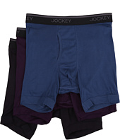 Jockey - Staycool Classic Fit Athletic Midway® Brief 3-Pack
