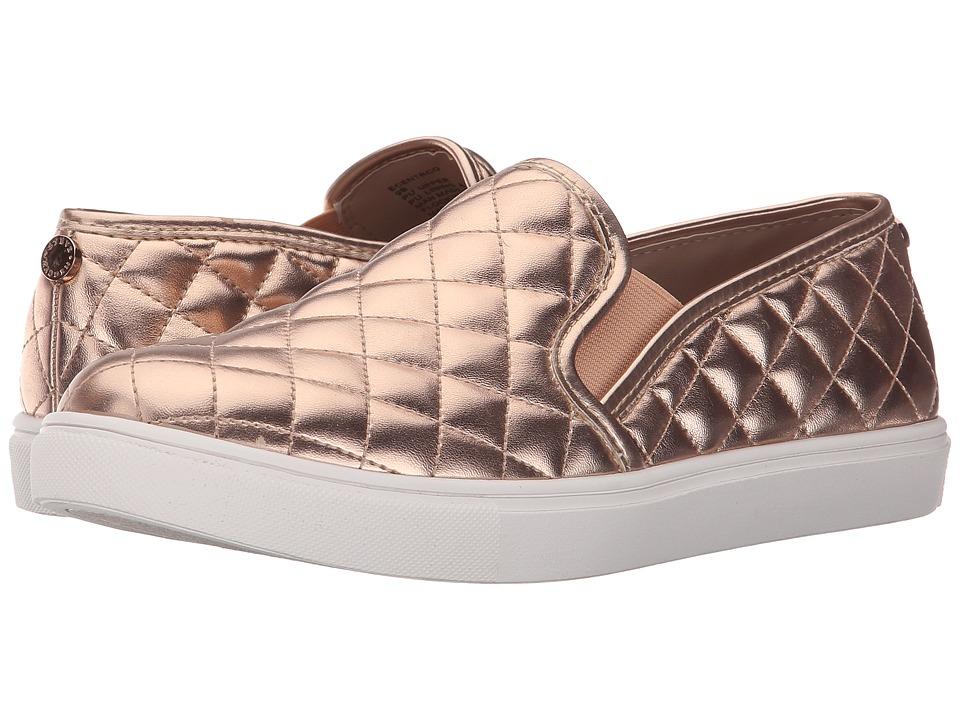 Steve Madden Ecentrcq Rose Gold Womens Slip on Shoes
