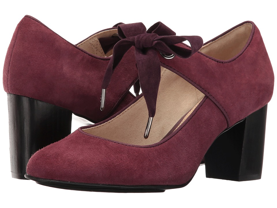 Hush Puppies - Margot Langdon (Wine Suede) Women