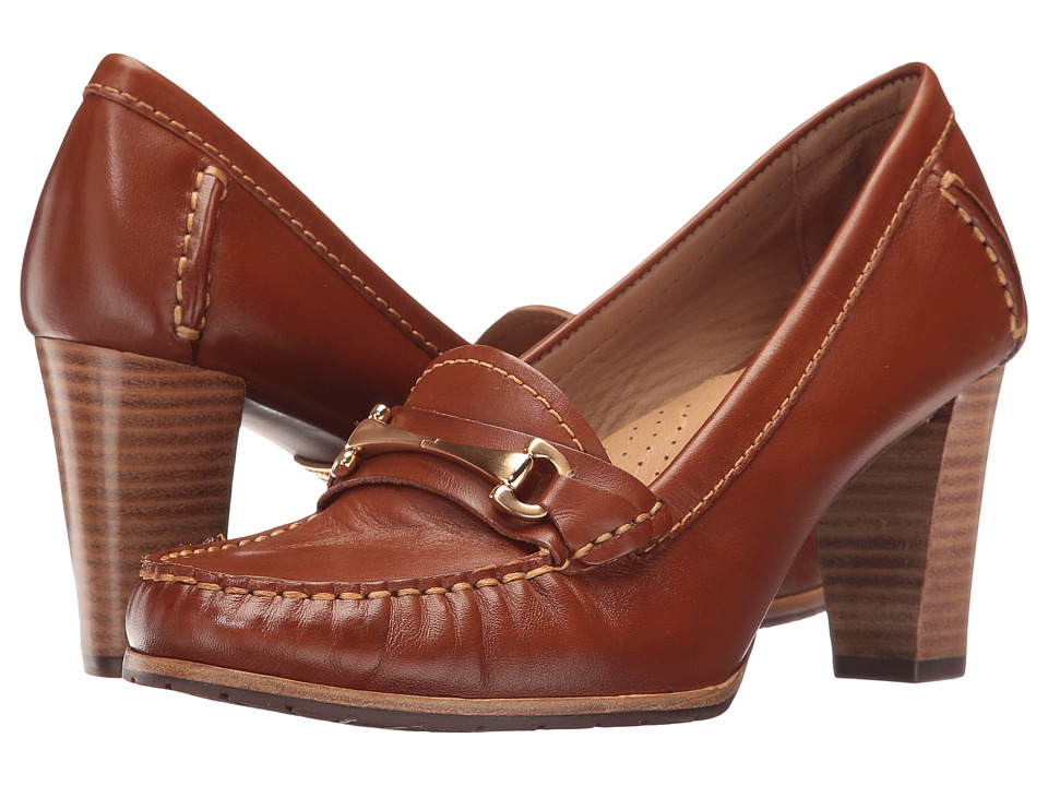 Hush Puppies - Castana (Cognac Leather) Women