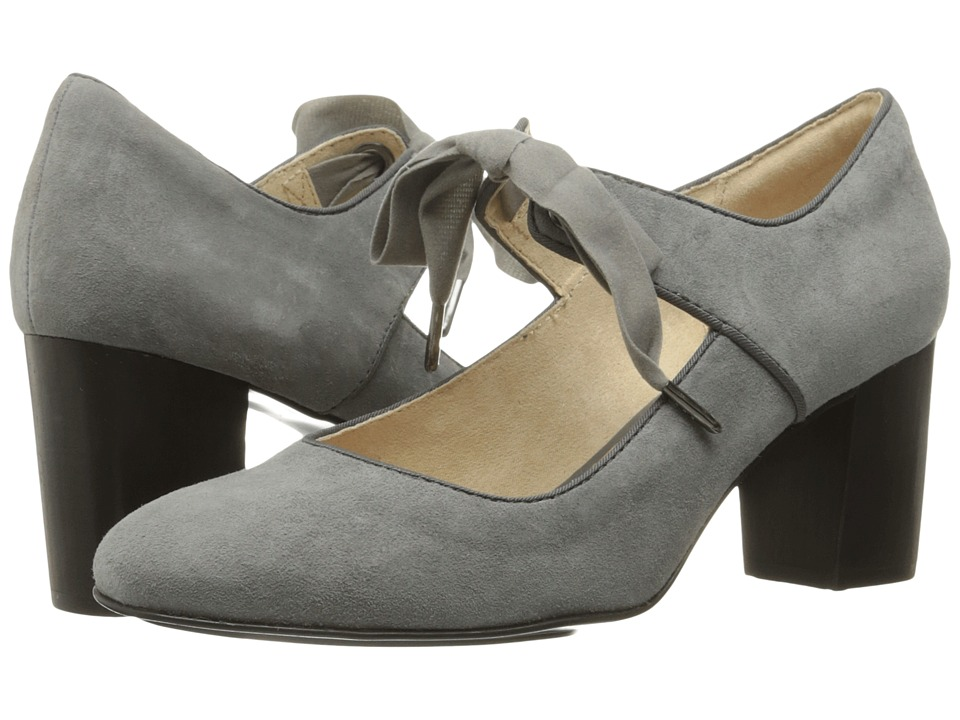 Hush Puppies - Margot Langdon (Smoke Suede) Women