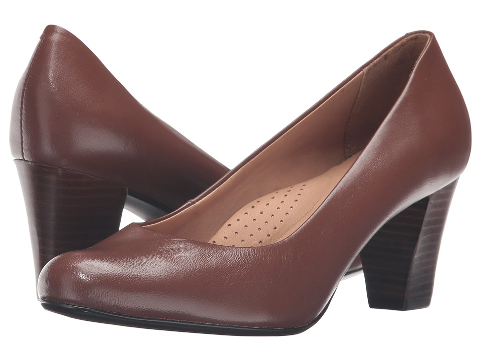 Hush Puppies - Alegria (Tan Leather) Women