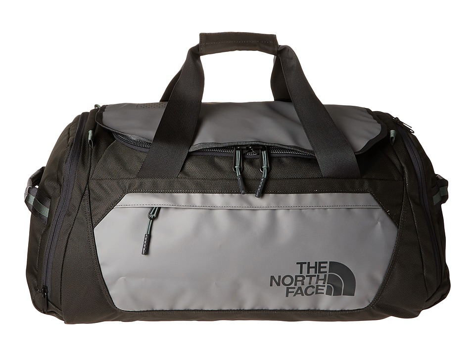 The North Face - Landfall Expandable Duffel (Zinc Grey/Duck Green) Duffel Bags