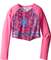 Roxy Kids - Altered Destination Cropped Rashguard (Big Kids)