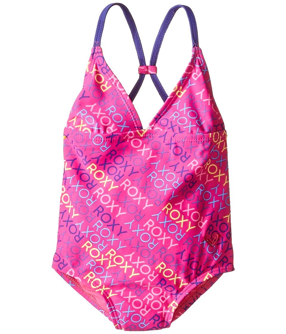Roxy Kids Roxy Ready One Piece Toddler/Little Kids Camellia Rose Girls Swimsuits One Piece