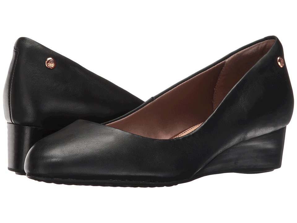Hush Puppies Dot Admire (Black Leather) Women