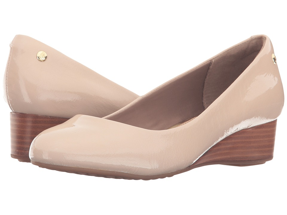 Hush Puppies - Dot Admire (Nude Patent Leather) Women