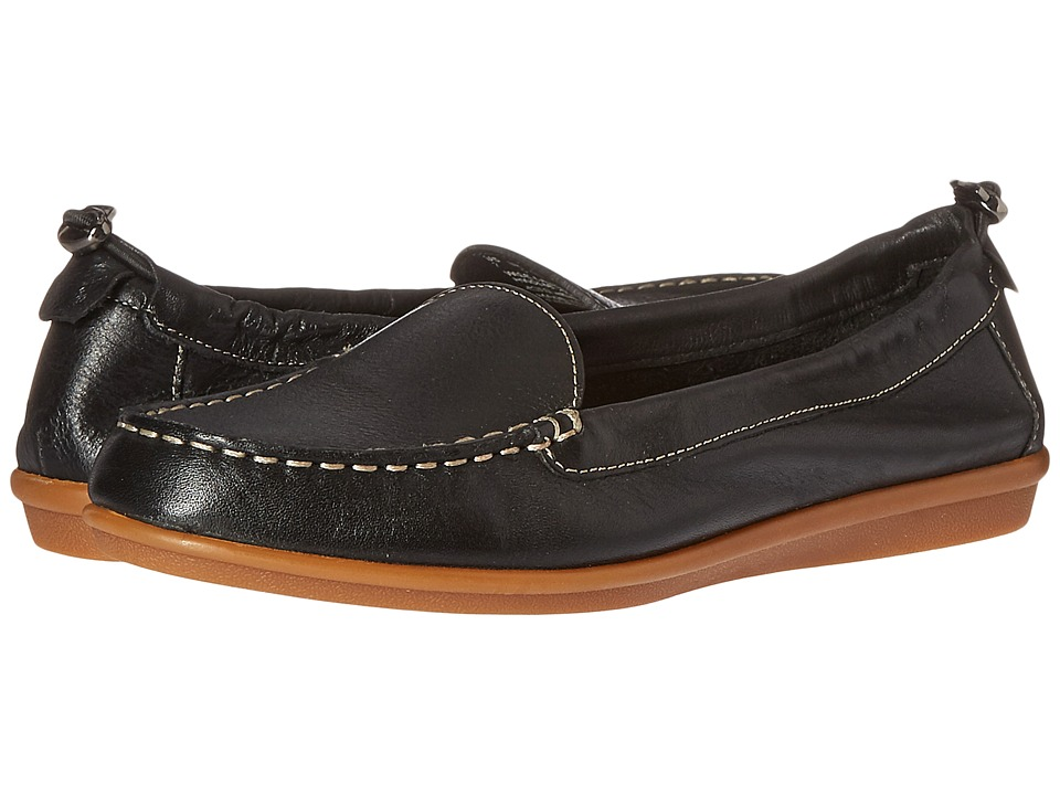 Hush Puppies - Endless Wink (Black Leather) Women