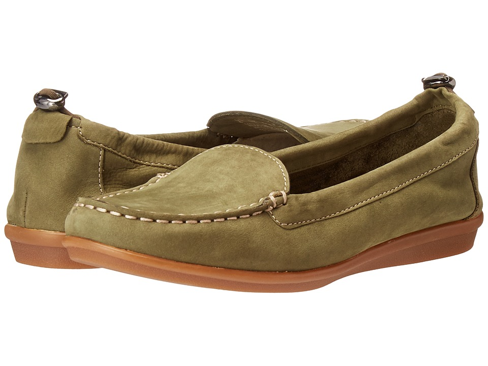 Hush Puppies - Endless Wink (Dark Olive Nubuck) Women